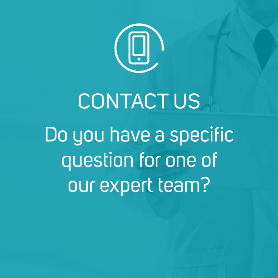 Do you have a specific question for one of our expert team?